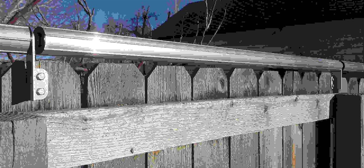 Coyote Rollers SAFE, EFFECTIVE for use on any fencing to