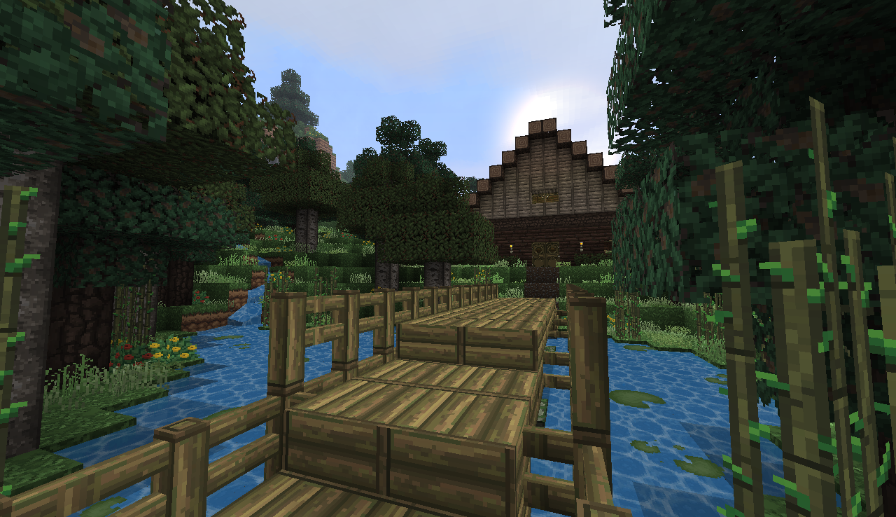 Minecraft Log Cabin in a forest. Minecraft Log Cabin in a forest   Alex s Manly Stuff   Pinterest