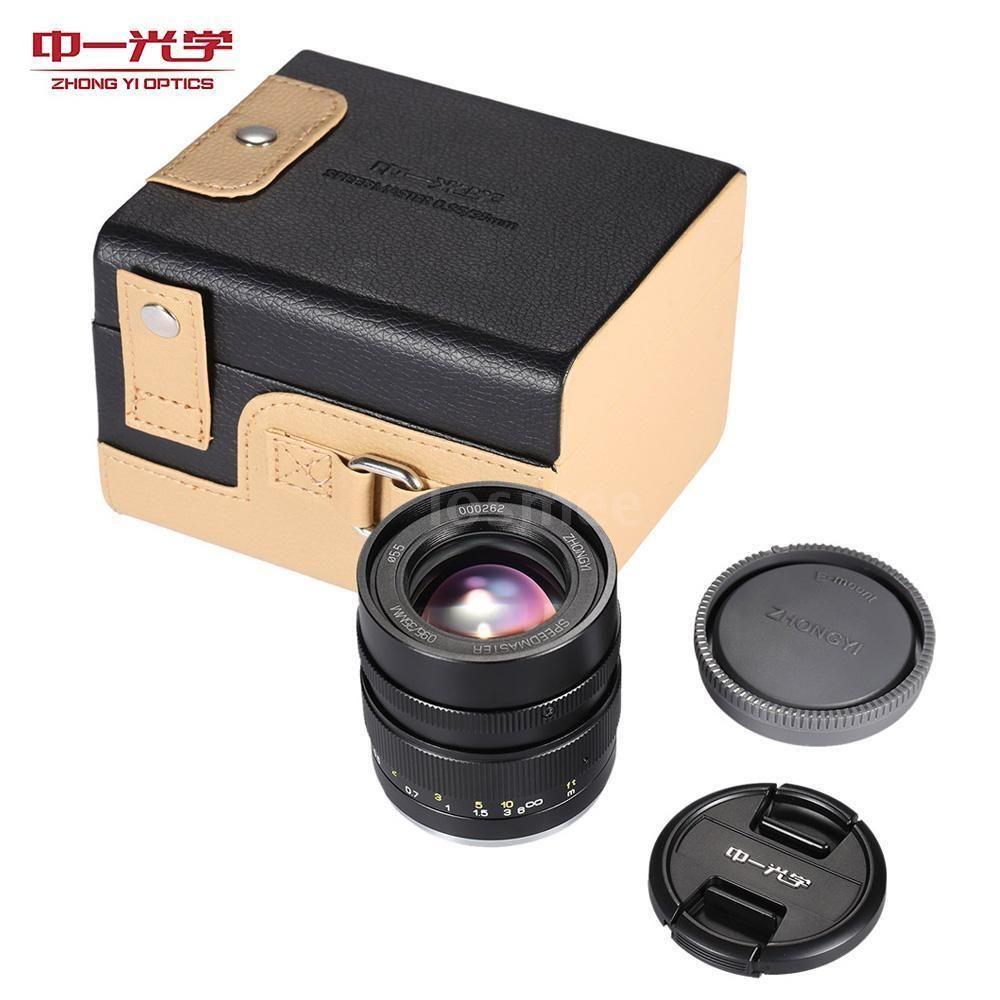 $454.00 on eBay 2016, Zhong Yi Optics 35mm F0.95 APS-c Full Frame ...