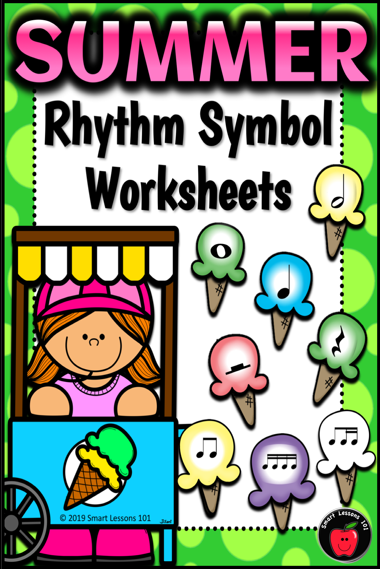 Distance Learning Summer Music Worksheets Rhythm