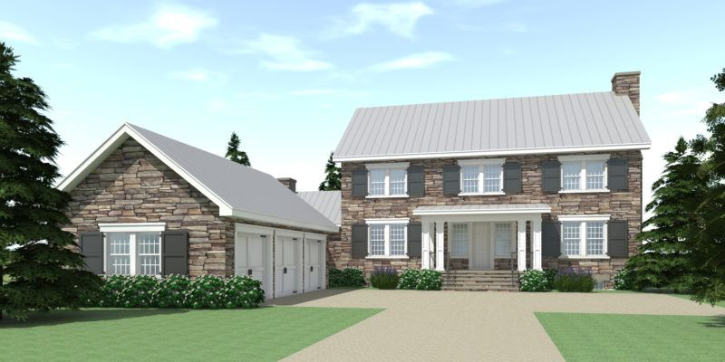 Big Traditional Stone House. 3722 Square Feet (With images