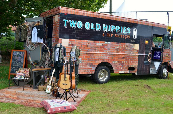 Two Old Hippies mobile fashion truck! Food trucks are