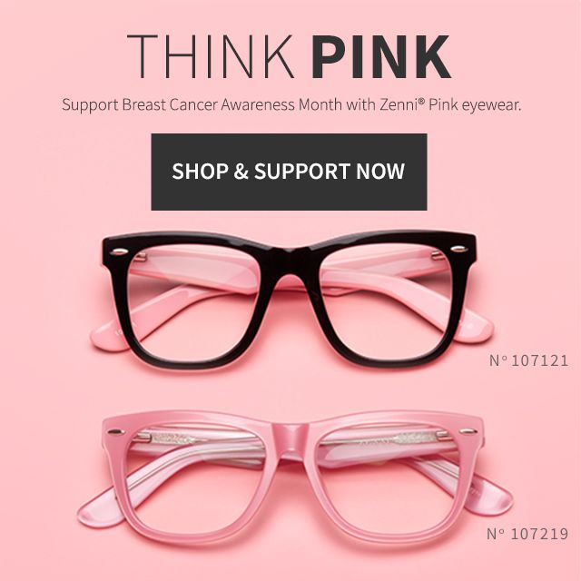 77c0c571ba Zenni Pink Breast Cancer Awareness