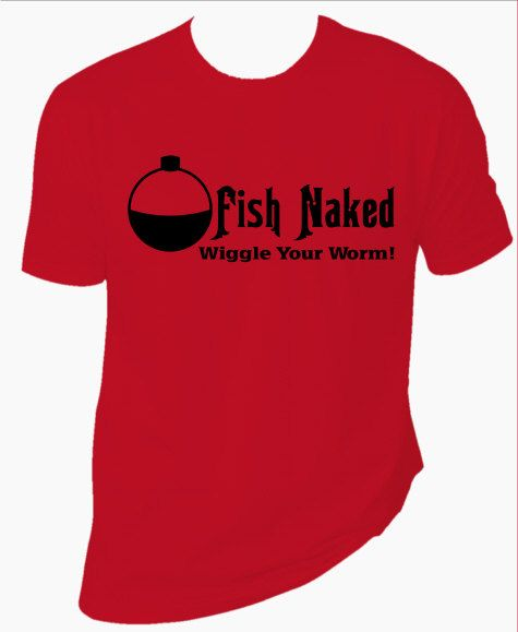 Fish naked t shirts