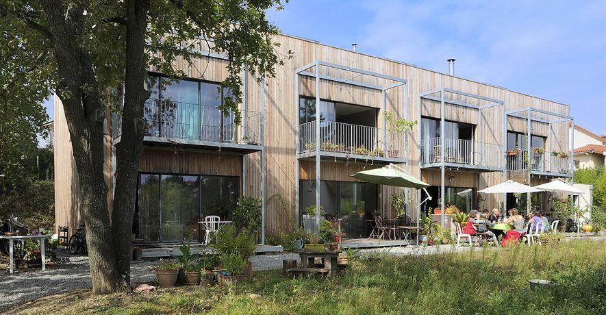 habitat alternatif du quartier de la Baraque à Louvain-la-neuve