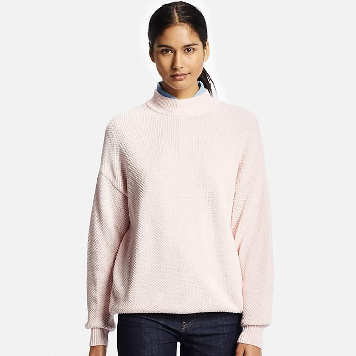 $30 WOMEN COTTON OVERSIZED HIGH NECK SWEATER | What I Want ...