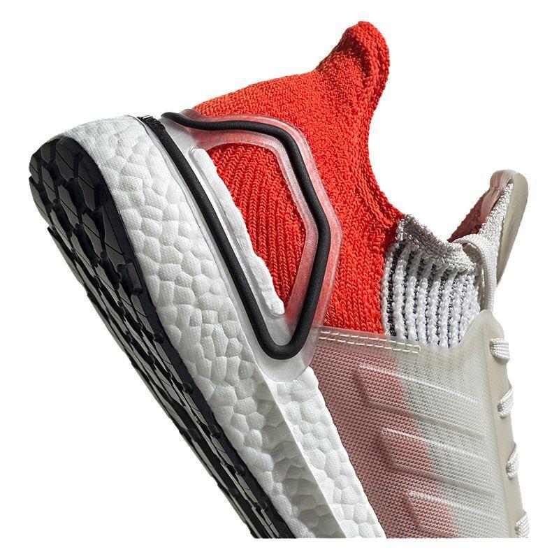 adidas Men's Ultraboost 19 Running Shoes White/Orange in