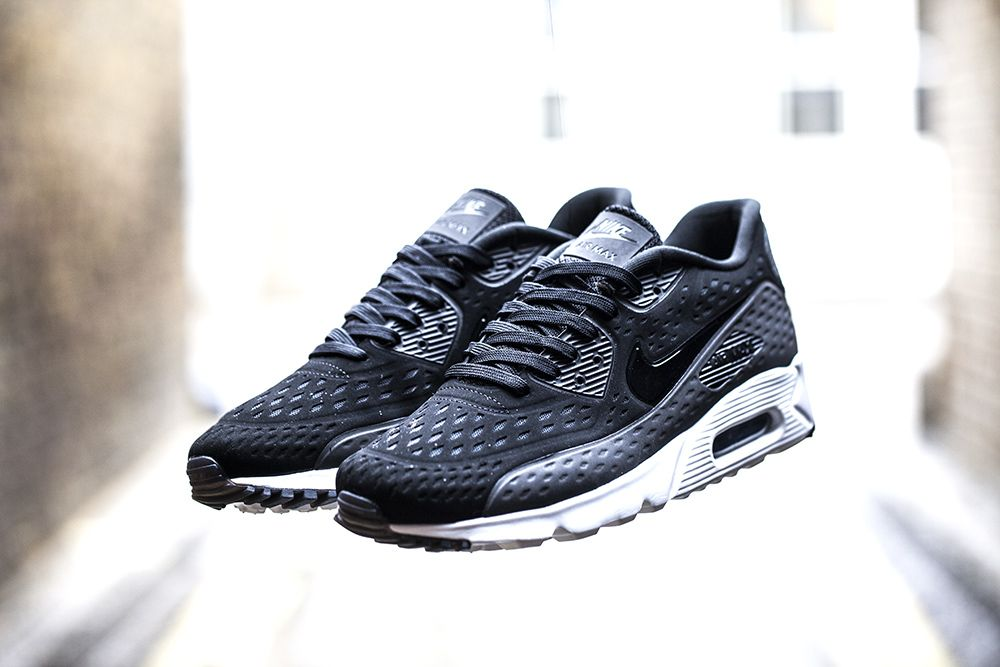 "timeless design df981 afee2 Nike Air Max 90 Ultra BR ""Black, Dark Grey  White"""