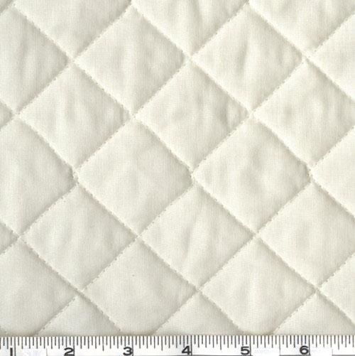 Double-Sided Quilted Broadcloth Cream from @fabricdotcom Cotton ... : quilted cotton - Adamdwight.com
