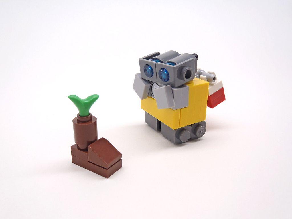 lego wall e instructions