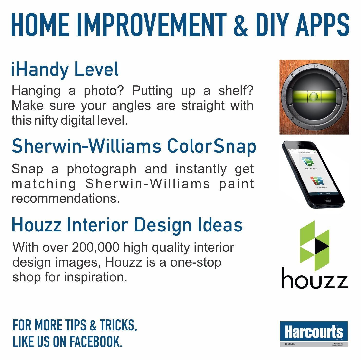 3 Techy Home Improvement & DIY Apps #TopTipTuesday