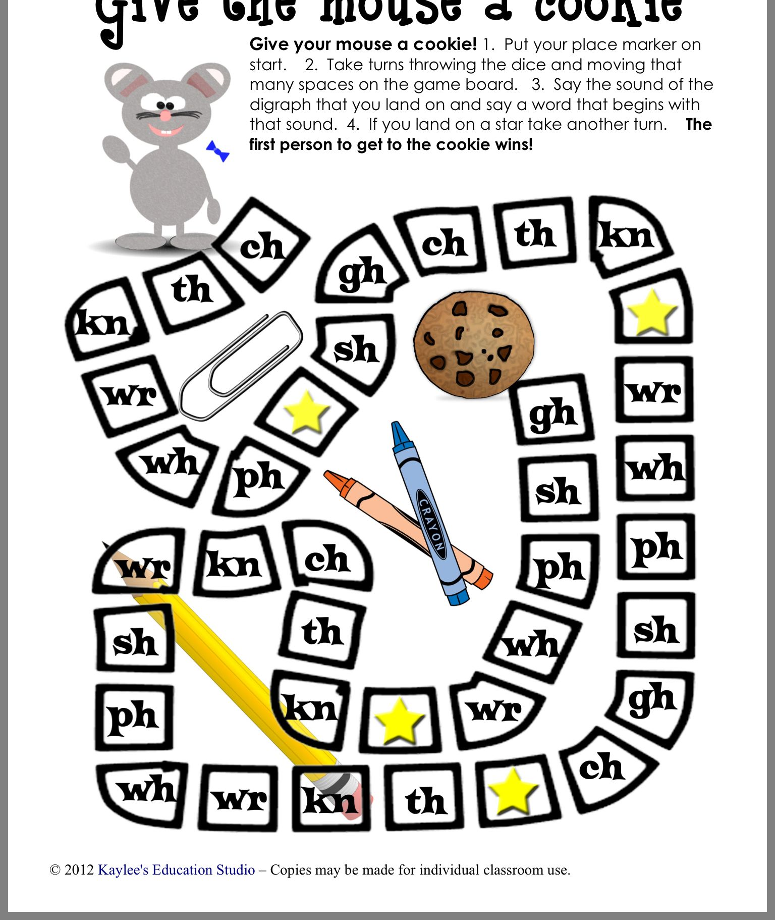 Pin by Suzanne Ratchford on Digraph board game First