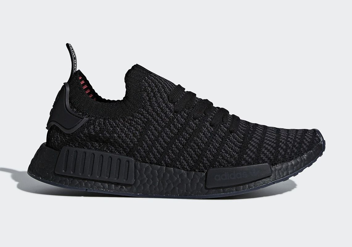 detailed look 7378b 1ea12 adidas NMD R1 In Black And Red - Lifestyle news website covering  streetwear, sneakers