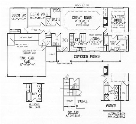 1 500 sq ft springfield house for Thehousedesigners com home plans