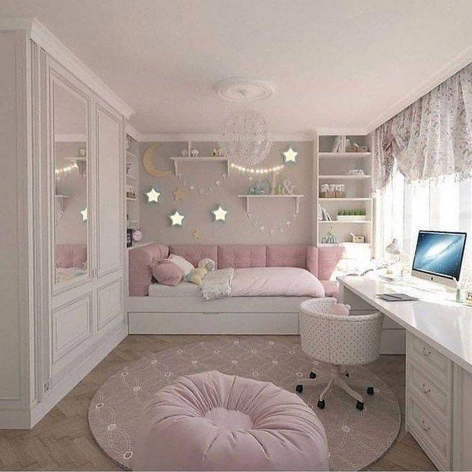 50+ Inspiring Small Apartment Bedroom College Design Ideas and Decor #apartmentd... - #Apartment #apartmentd #Bedroom #College #decor #Design #Ideas #Inspiring #small #girlsbedroomideas