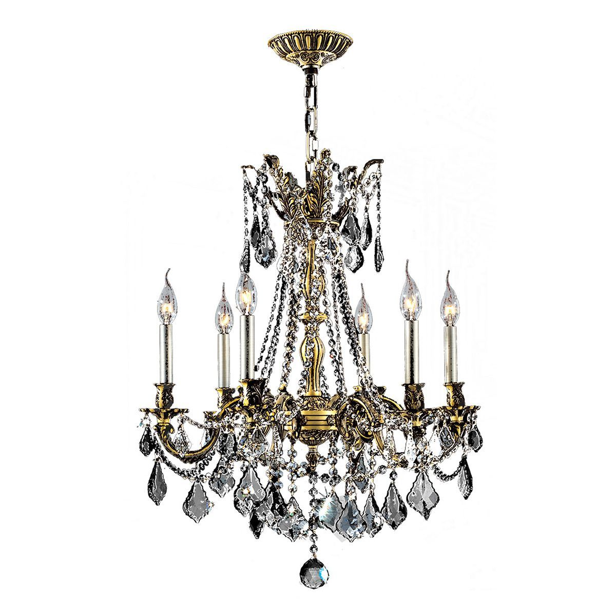 Italian elegance collection 6 light antique bronze finish crystal italian elegance collection 6 light antique finish crystal ornate chandelier 23 aloadofball Image collections