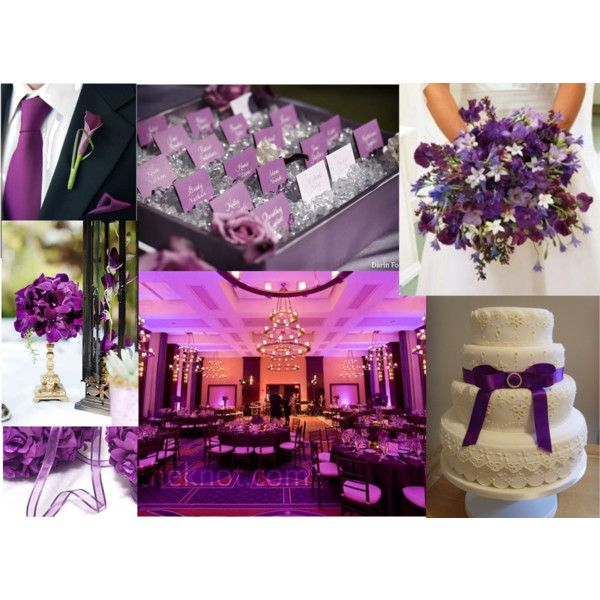 Wedding Altar Name: Purple Wedding Ideas