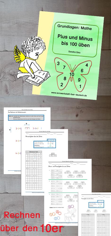 plus und minus bis 100 ben unterrichtsmaterial in den f chern mathematik arbeitsbl tter. Black Bedroom Furniture Sets. Home Design Ideas