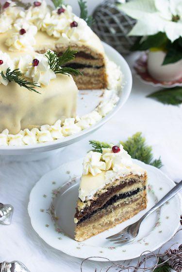 Photo of Schlesische Weihnachtstorte – Sasibella