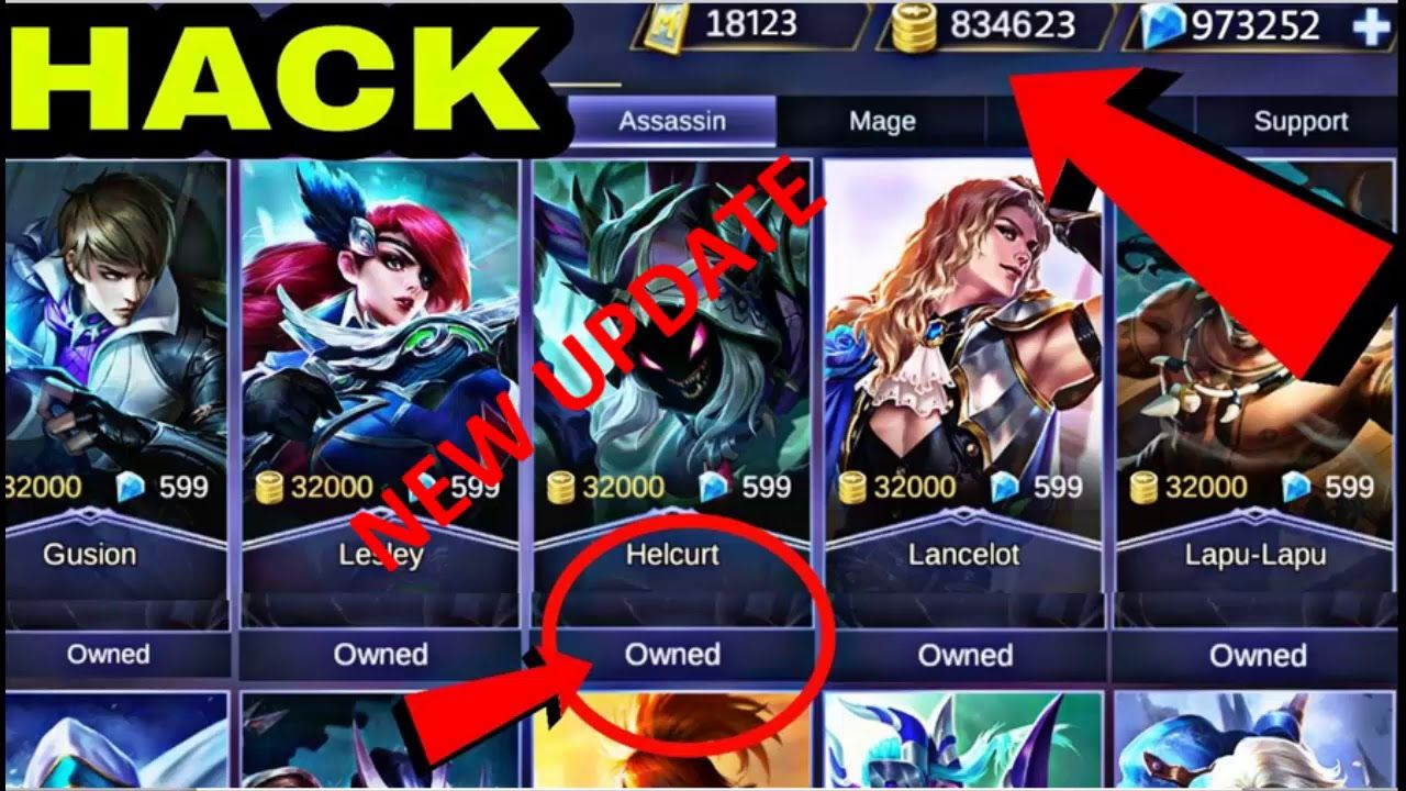 Mobile Legends Hack 2019 Hack Diamonds And Battle Points