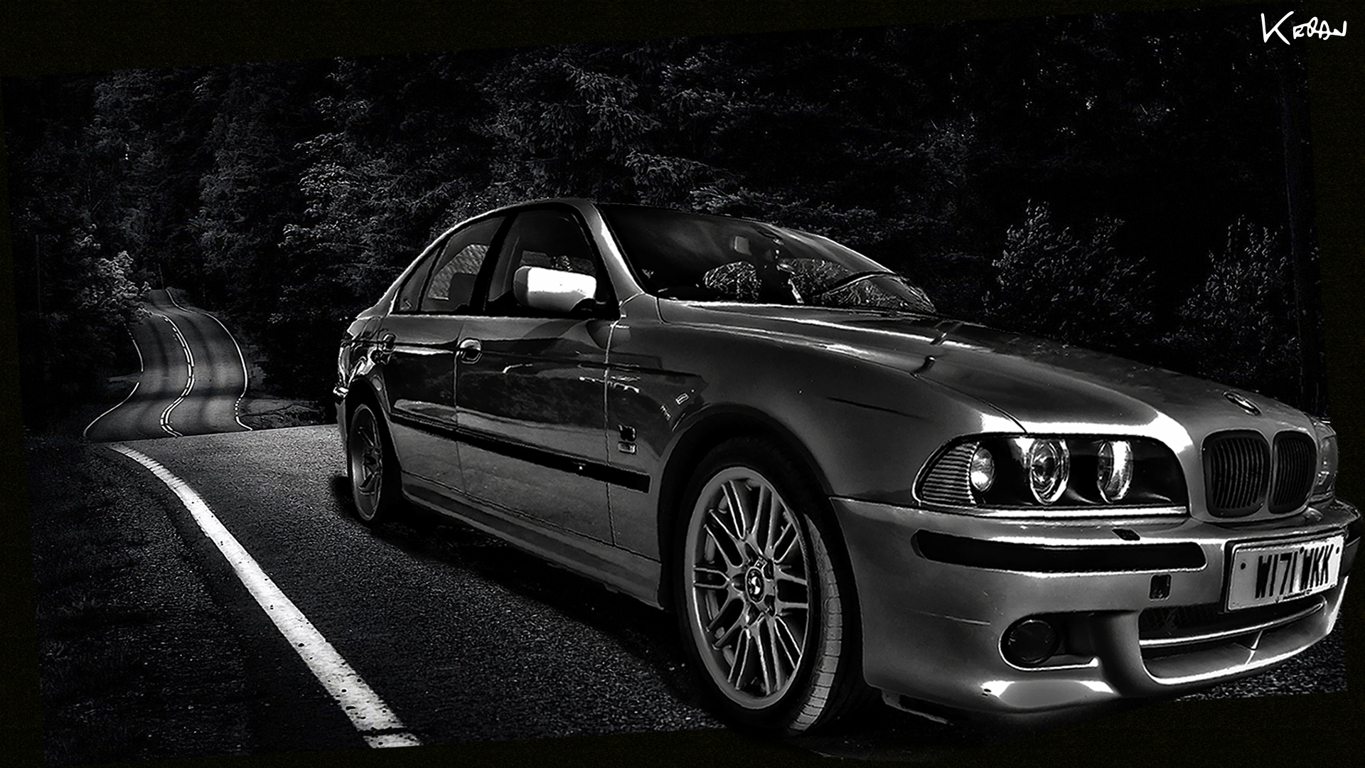 first ever wallpaper my e39 bmw 540i bit niche i guess. Black Bedroom Furniture Sets. Home Design Ideas