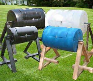 Build Rotating Compost Bin