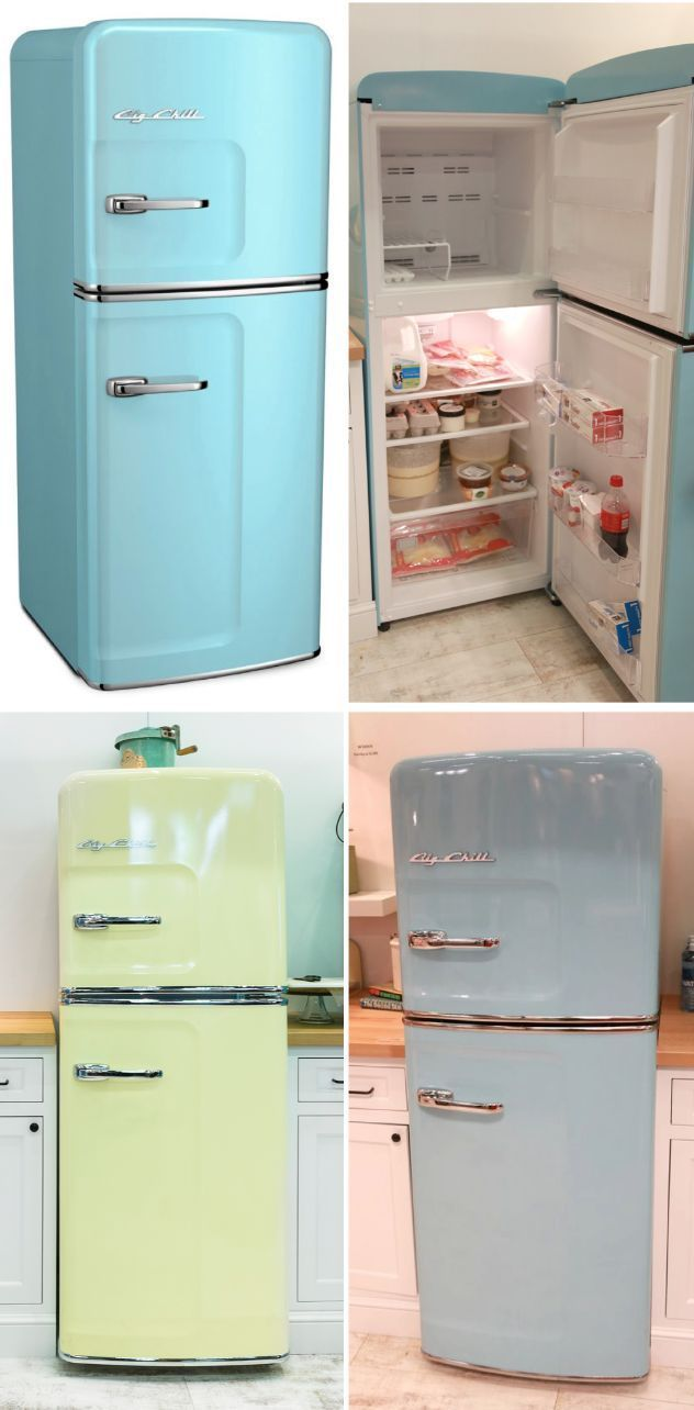 Featuring: The Big Chill Slim Refrigerator | Big chill, Refrigerator ...