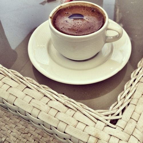 Turkish coffee @ tophane / istanbul