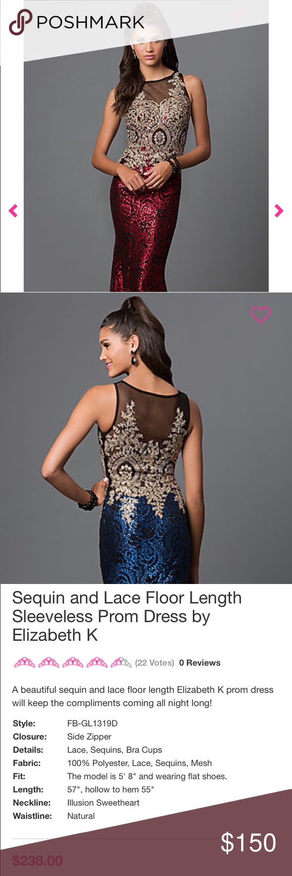 Sequin and lace prom dress lace prom dresses dress prom and sequins