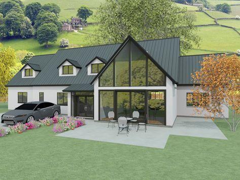 The Churchfield Bungalow Exterior Dormer Bungalow Bungalow Design