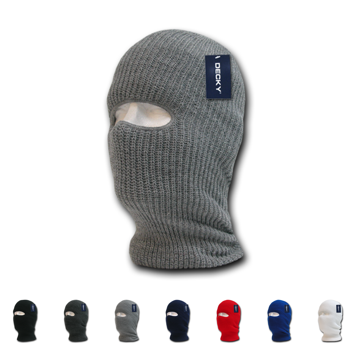 The Wholesale Blank Ski Mask 1 Hole Decky 971 Is A Long Braided Knit Beanie Cap That Is Meant To Be Pulled Over The Face And Fea Ski Mask Skiing Knit Beanie