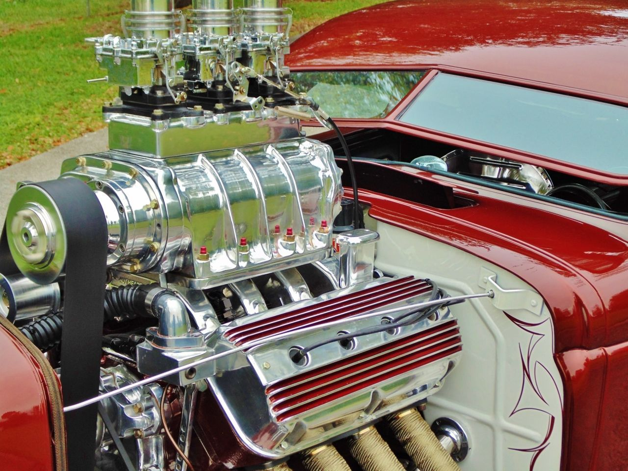 1940 dodge power wagon hot rod rat rod show car blown hemi