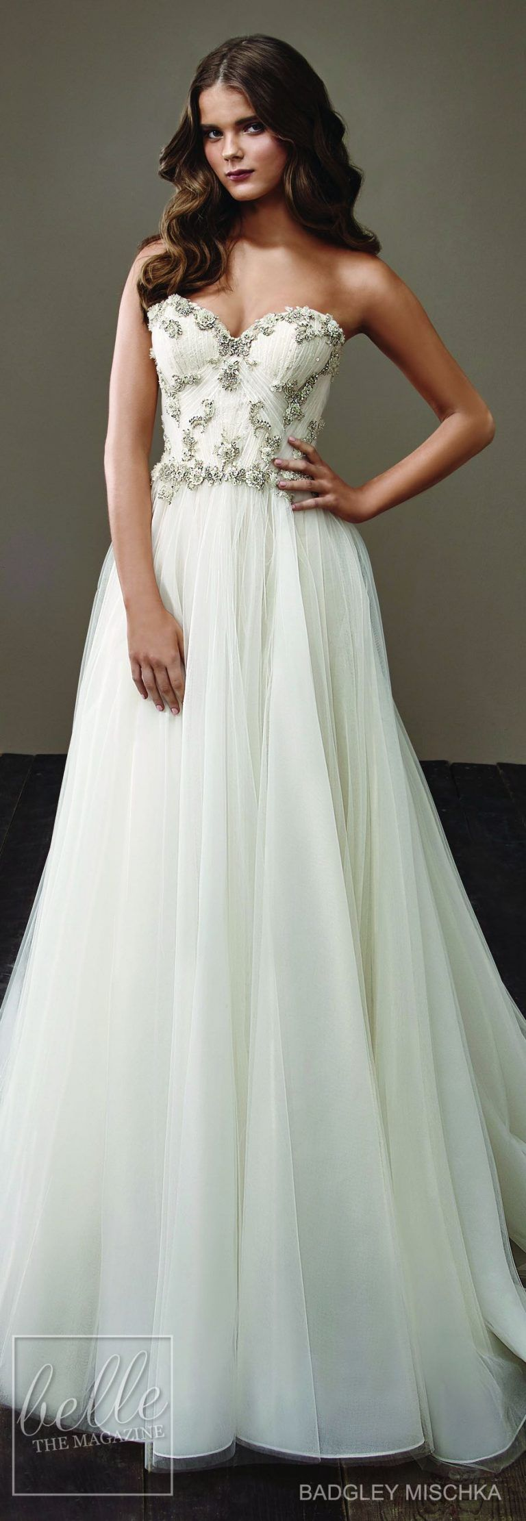 Badgley mischka bride wedding dress pinterest wedding