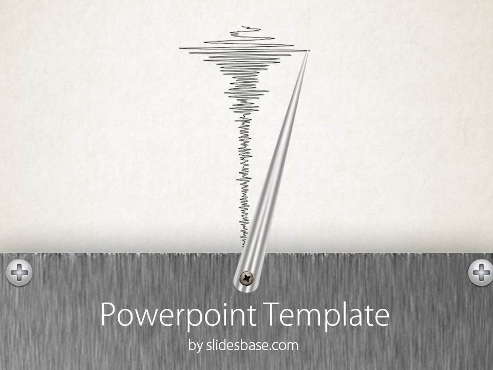 Lie detector seismograph polygraph needle powerpoint template powerpoint template for a presentation related with a lie detector polygraph test or earthquake seismograph toneelgroepblik