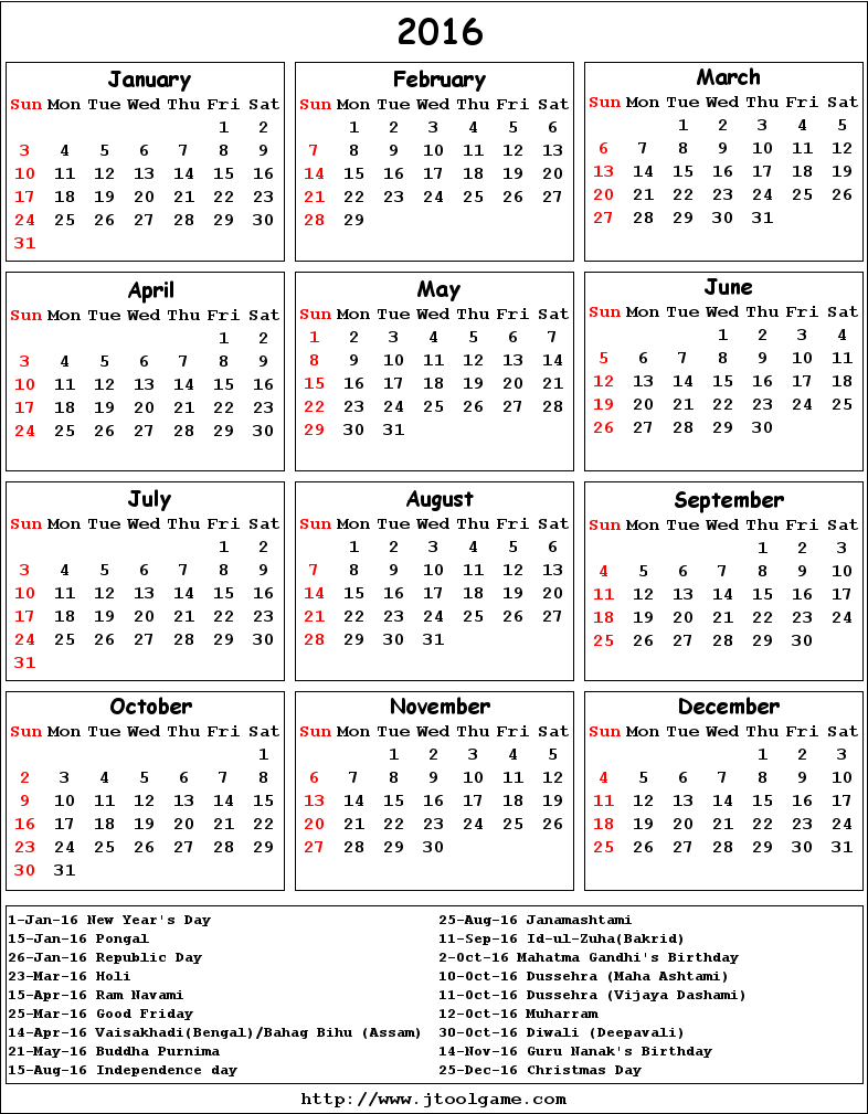 Calendar With Federal Holidays   Calendar