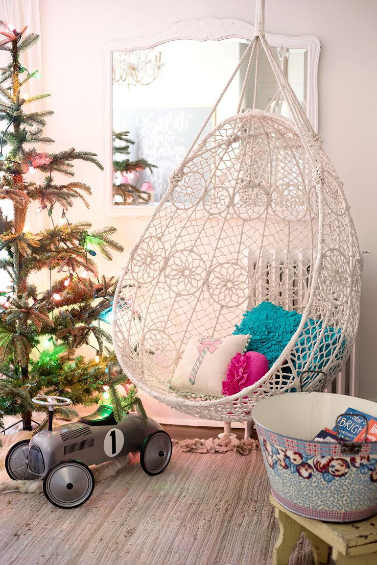 Christmas In The Kids Room Love Charlie Brown Tree And Swing
