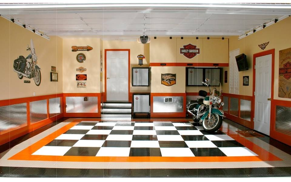 Bike Garage Garage Design Interior Floor Design Garage Interior