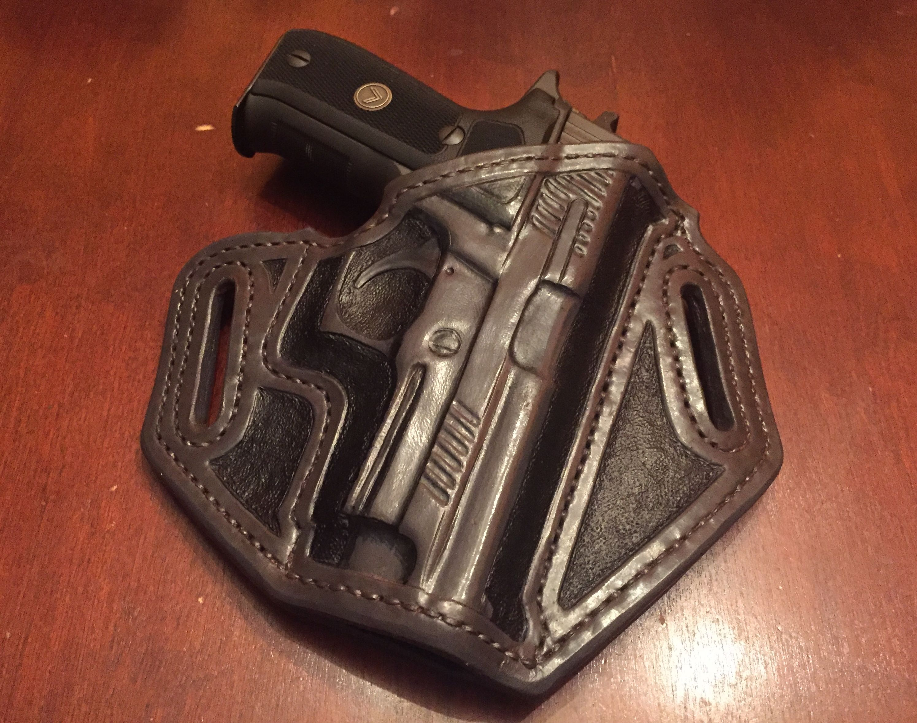 the best attitude 4a5bb d6def Sig Sauer P226 Legion Leather Holster . TS Custom Leather.