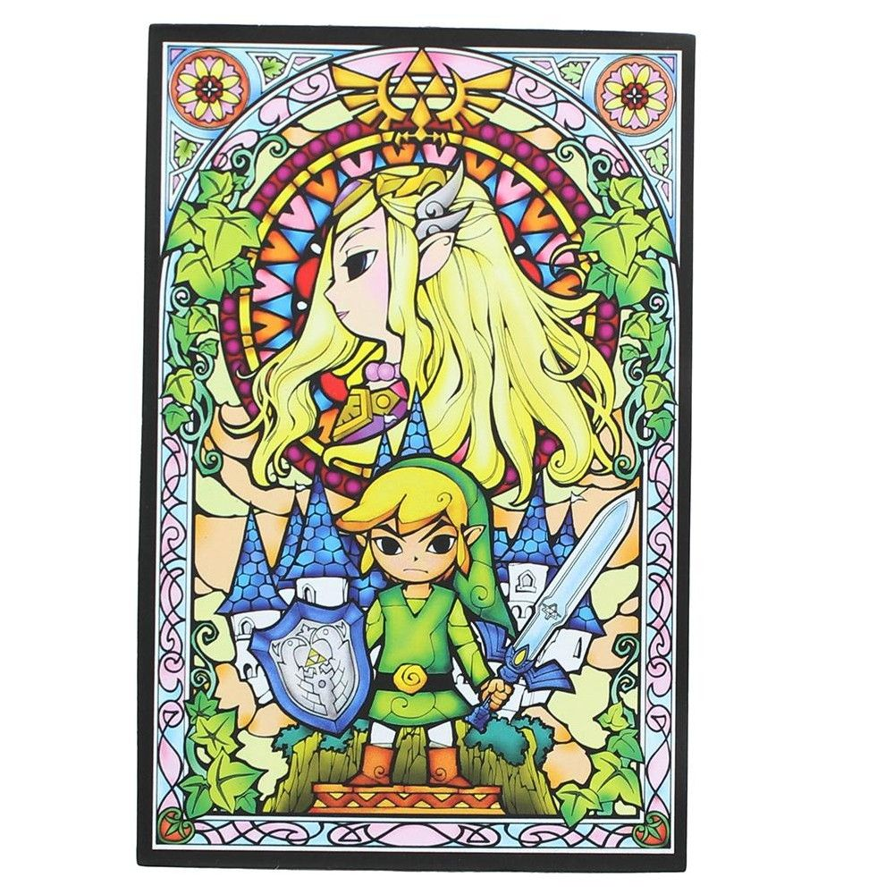 The Legend Of Zelda Stained Glass Magnet Products