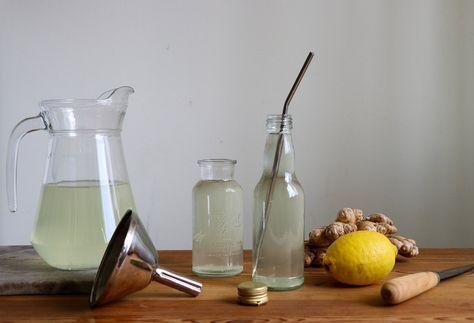 ingefära och citron mot förkylning