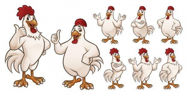 Keren 30 Gambar Kartun Paha Ayam Di 2020 Kartun Lukisan Gambar