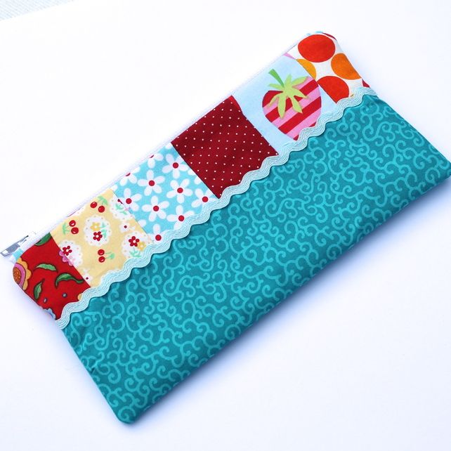 Pencil Case Or Make Up Bag Patchwork Free Uk P 5 95