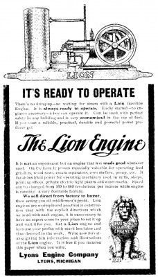 LION ENGINE.