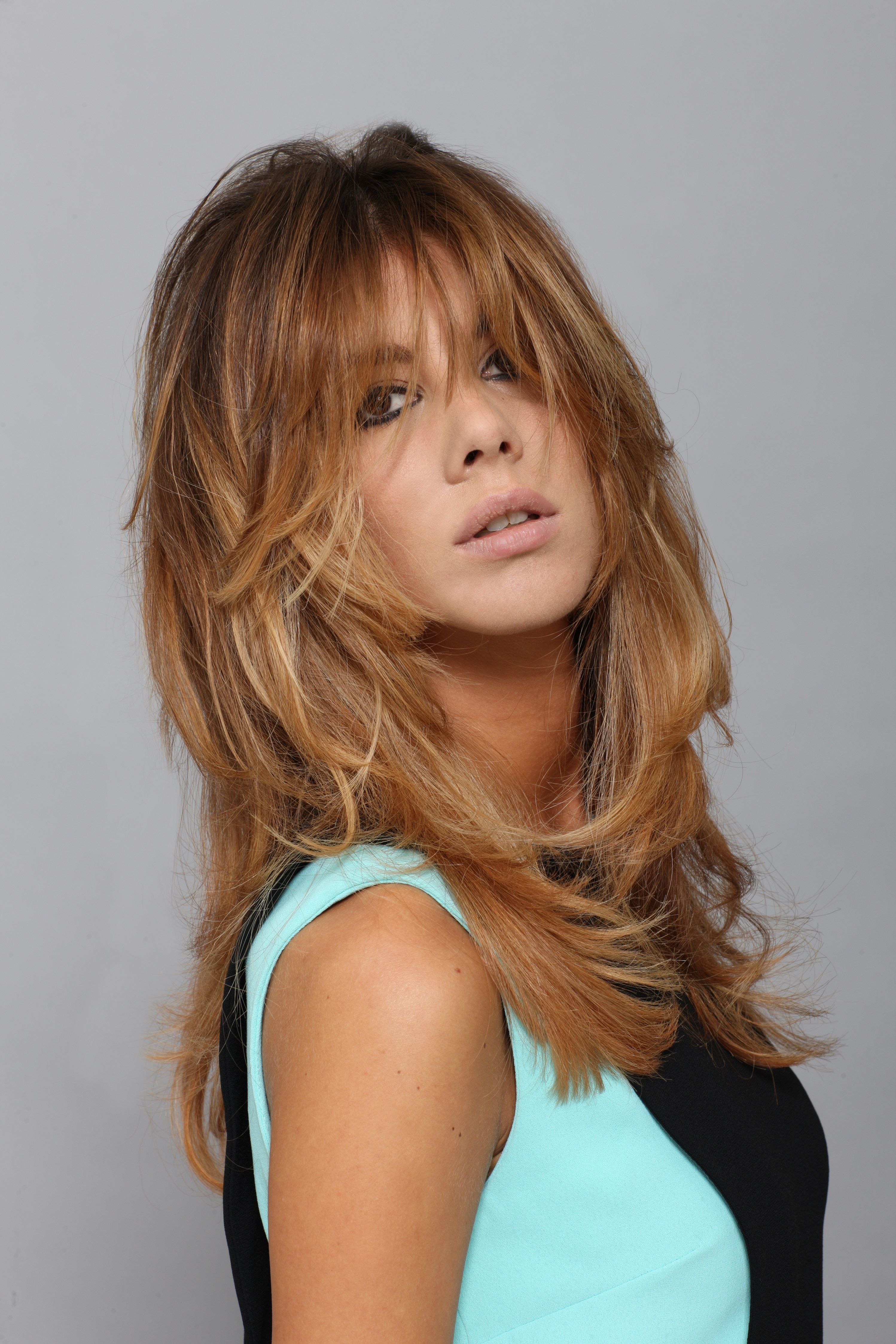 Hairstyle by our Creative Director Stefano Lorenzi ...