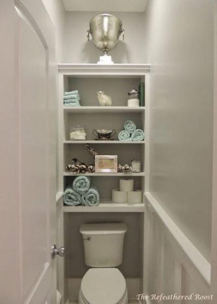 Bathroom Closet Makeover Bath 23+ Trendy Ideas #bath # ...