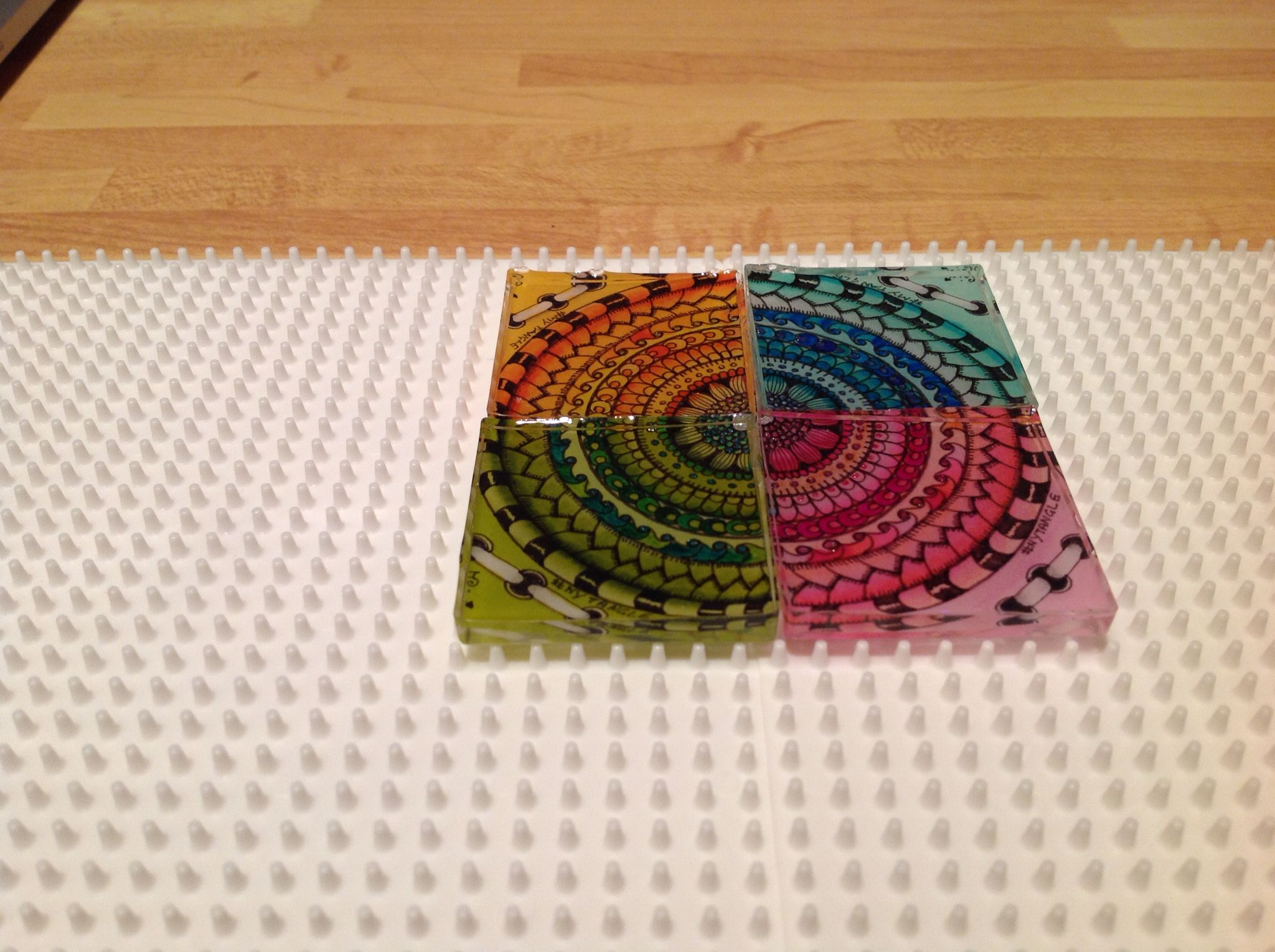 4Expression MyTangle - #zentangle #tangle #doodle #myart #resin #handmade