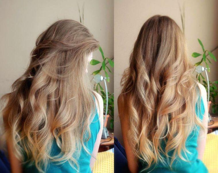 Piega twist capelli lunghi
