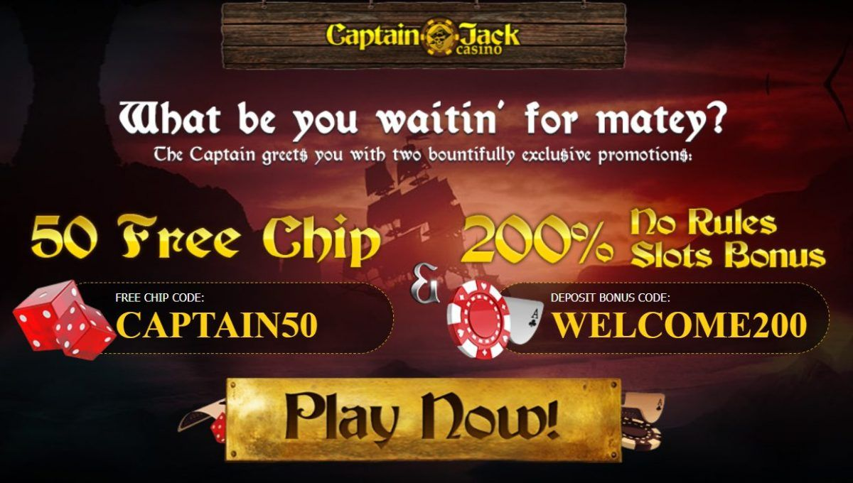 Captain Jack Casino Bonus Codes 2020 Nabble Casino Bingo