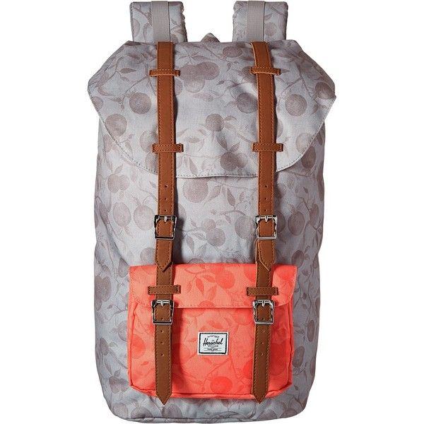 Herschel Supply Co. Little America (Grey Orchard Red Orchard) Backpack. c0fbcd70aa48c