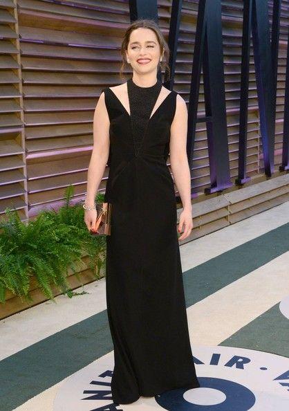 Emilia Clarke Photos - Celebrities at the 2014 Vanity Fair Oscar Party in Hollywood, California on March 2, 2014. - The 2014 Vanity Fair Oscar Party